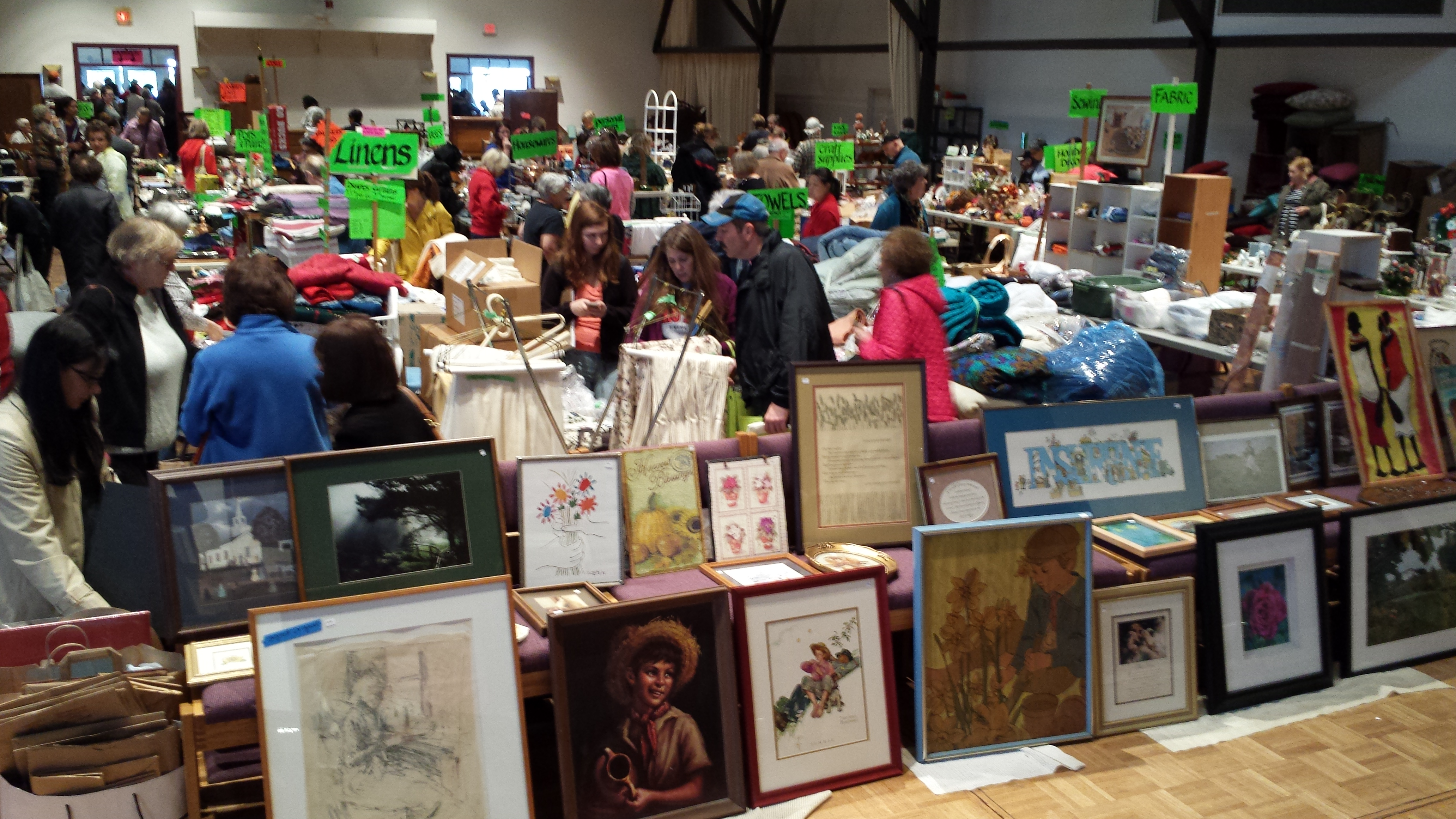 23rd Annual Gigantic Garage Sale | Franklin County Agricultural Society